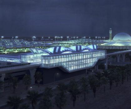 Riyadh Metro KKIA Station 4